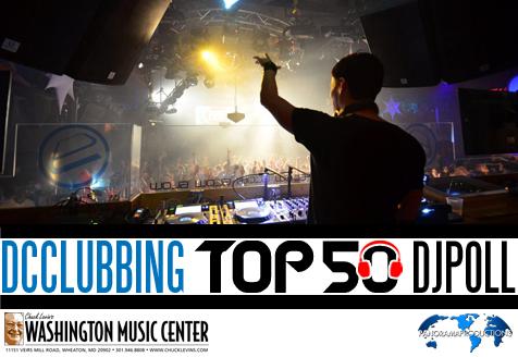 DC Clubbing Top 50 DJ Poll