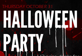 Halloween Party at Barcode