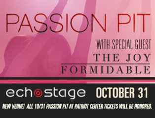 Passion Pit at Echostage