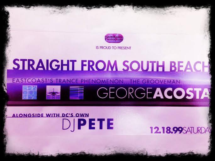 George Acosta Flyer